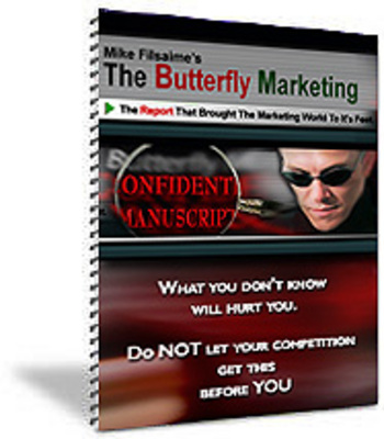 Product picture Butterfly Marketing Manuscript