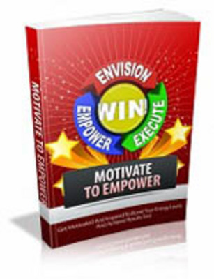 Product picture Motivate To Empower